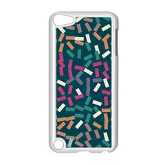 Floating Rectangles Apple Ipod Touch 5 Case (white) by LalyLauraFLM