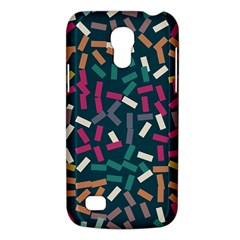 Floating Rectangles Samsung Galaxy S4 Mini (gt I9190) Hardshell Case  by LalyLauraFLM