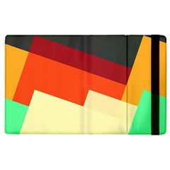 Miscellaneous Retro Shapes Apple Ipad 2 Flip Case by LalyLauraFLM