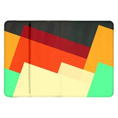 Miscellaneous Retro Shapes Samsung Galaxy Tab 8 9  P7300 Flip Case by LalyLauraFLM
