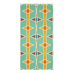 Rhombus Pattern In Retro Colors 	shower Curtain 36  X 72  by LalyLauraFLM