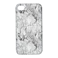 White Marble Apple Iphone 4/4s Hardshell Case With Stand by ArgosPhotography