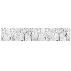 White Marble Flano Scarf (large)  by ArgosPhotography