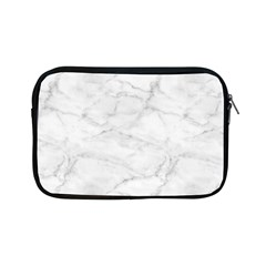 White Marble 2 Apple Ipad Mini Zipper Cases by ArgosPhotography