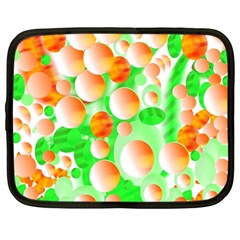 Bubbles Netbook Case (large) by JDDesigns