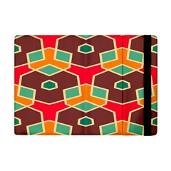 Distorted Shapes In Retro Colors			apple Ipad Mini Flip Case by LalyLauraFLM