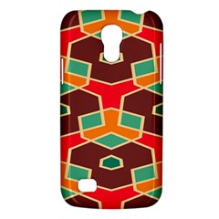 Distorted Shapes In Retro Colors			samsung Galaxy S4 Mini (gt I9190) Hardshell Case