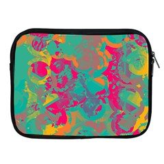 Fading Circles			apple Ipad 2/3/4 Zipper Case by LalyLauraFLM
