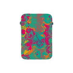 Fading Circles			apple Ipad Mini Protective Soft Case by LalyLauraFLM