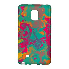 Fading Circles			samsung Galaxy Note Edge Hardshell Case by LalyLauraFLM