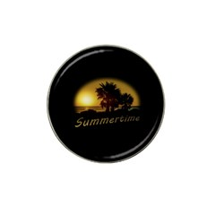 Sunset Scene At The Coast Of Montevideo Uruguay Hat Clip Ball Marker (10 Pack) by dflcprints