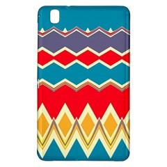 Chevrons And Rhombus			samsung Galaxy Tab Pro 8 4 Hardshell Case by LalyLauraFLM