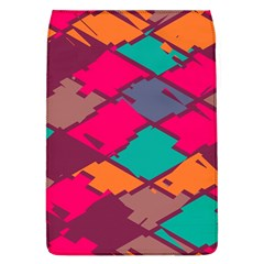 Pieces In Retro Colors			removable Flap Cover (l) by LalyLauraFLM
