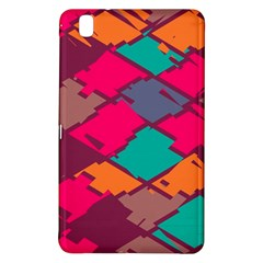 Pieces In Retro Colors			samsung Galaxy Tab Pro 8 4 Hardshell Case by LalyLauraFLM
