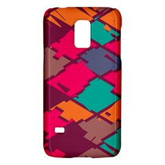 Pieces In Retro Colors			samsung Galaxy S5 Mini Hardshell Case