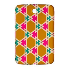 Connected Shapes Pattern			samsung Galaxy Note 8 0 N5100 Hardshell Case by LalyLauraFLM