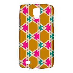Connected Shapes Pattern			samsung Galaxy S4 Active (i9295) Hardshell Case by LalyLauraFLM