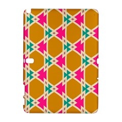 Connected Shapes Pattern			samsung Galaxy Note 10 1 (p600) Hardshell Case