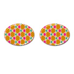 Connected Shapes Pattern			cufflinks (oval) by LalyLauraFLM