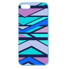 Angles And Stripes			apple Seamless Iphone 5 Case (color) by LalyLauraFLM