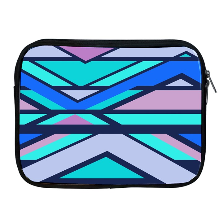 Angles and stripes			Apple iPad 2/3/4 Zipper Case