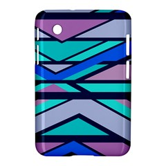 Angles And Stripes			samsung Galaxy Tab 2 (7 ) P3100 Hardshell Case by LalyLauraFLM