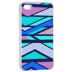 Angles And Stripes			apple Iphone 4/4s Seamless Case (white)