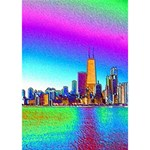 Chicago Colored Foil Effects Ribbon 3D Greeting Card (7x5)  Inside