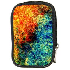 Orange Blue Background Compact Camera Cases by Costasonlineshop