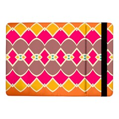Symmetric Shapes In Retro Colors			samsung Galaxy Tab Pro 10 1  Flip Case by LalyLauraFLM