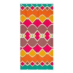 Symmetric Shapes In Retro Colors	shower Curtain 36  X 72  by LalyLauraFLM