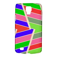Symmetric Distorted Rectangles			samsung Galaxy S4 Active (i9295) Hardshell Case by LalyLauraFLM