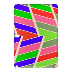 Symmetric Distorted Rectangles			samsung Galaxy Tab Pro 10 1 Hardshell Case by LalyLauraFLM