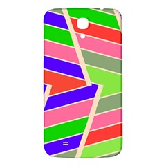 Symmetric Distorted Rectangles			samsung Galaxy Mega I9200 Hardshell Back Case by LalyLauraFLM