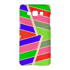Symmetric Distorted Rectangles			samsung Galaxy A5 Hardshell Case