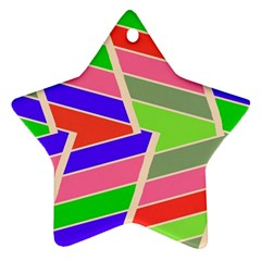 Symmetric Distorted Rectangles			ornament (star) by LalyLauraFLM