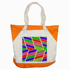 Symmetric Distorted Rectangles			accent Tote Bag by LalyLauraFLM
