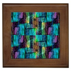Abstract Square Wall Framed Tiles by Costasonlineshop