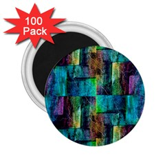 Abstract Square Wall 2 25  Magnets (100 Pack)  by Costasonlineshop