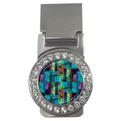 Abstract Square Wall Money Clips (cz)  by Costasonlineshop