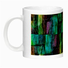 Abstract Square Wall Night Luminous Mugs by Costasonlineshop