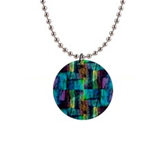 Abstract Square Wall Button Necklaces