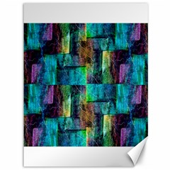 Abstract Square Wall Canvas 36  X 48   by Costasonlineshop