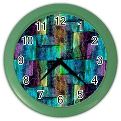 Abstract Square Wall Color Wall Clocks by Costasonlineshop