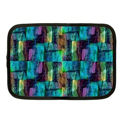 Abstract Square Wall Netbook Case (medium)  by Costasonlineshop