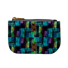 Abstract Square Wall Mini Coin Purses by Costasonlineshop