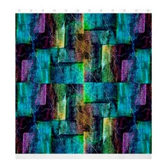 Abstract Square Wall Shower Curtain 66  X 72  (large)  by Costasonlineshop