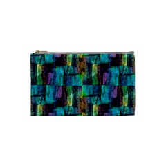 Abstract Square Wall Cosmetic Bag (small)  by Costasonlineshop