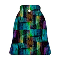 Abstract Square Wall Bell Ornament (2 Sides) by Costasonlineshop