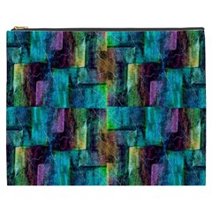 Abstract Square Wall Cosmetic Bag (xxxl)  by Costasonlineshop